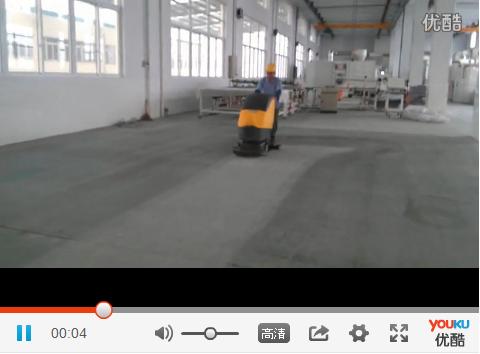 常熟客户迎阳机械选用优尼斯手推式洗地机