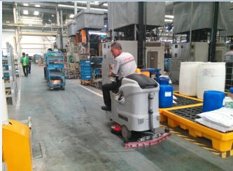 苏州全自动洗地机,哈金森选择与优尼斯合作