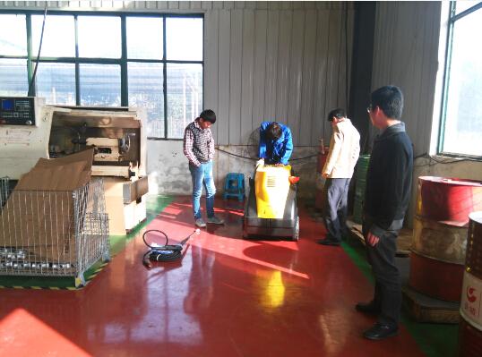 昆山莱捷有色金属有限公司选用优尼斯热水高压清洗机TEKNA2021