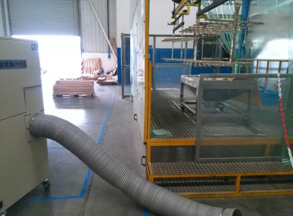 雅固拉选用优尼斯工业吸尘器SHJ-M4