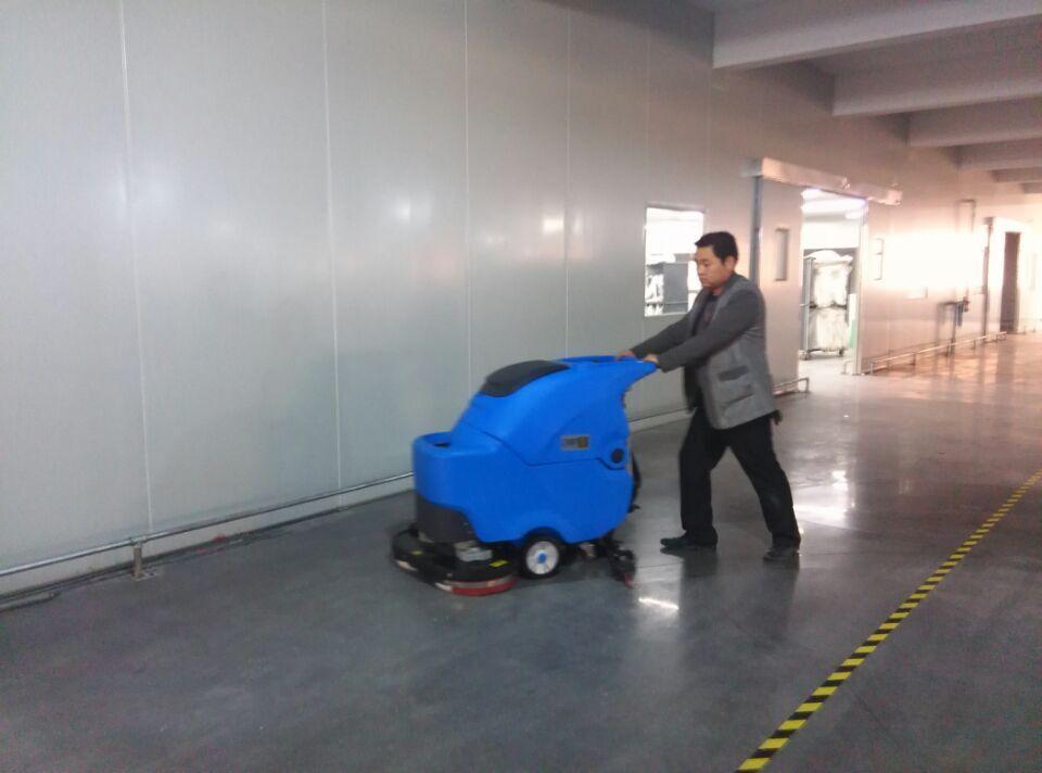 太仓天丝利塑化有限公司再次选用优尼斯洗地机L700BT