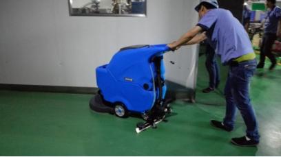 苏州客户买洗地机,当然选择与zui优质的洗地机厂家合作