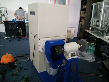 第2台优尼斯工业吸尘器走进同盟电气