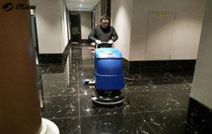 苏州西山涵园酒店优选优尼斯手推式洗地机