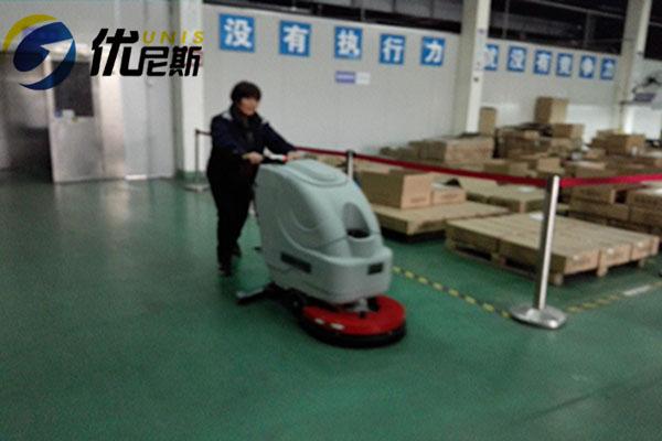 苏州同亮优选优尼斯S510B手推式洗地机