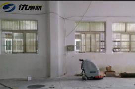 2016年优尼斯首台手推式洗地机成功入驻泛亚金属