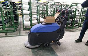 第5台手推式洗地机成功入驻远东