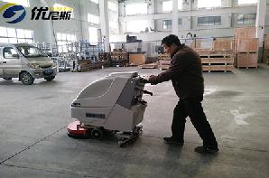 马山永红热换器厂携手优尼斯洗地机共创清洁环境