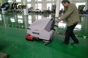 张家港金属制品厂购买优尼斯车间洗地机就这么简单