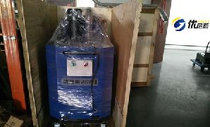 上乘汽车厂总部再次联手优尼斯采购2台工业吸尘器
