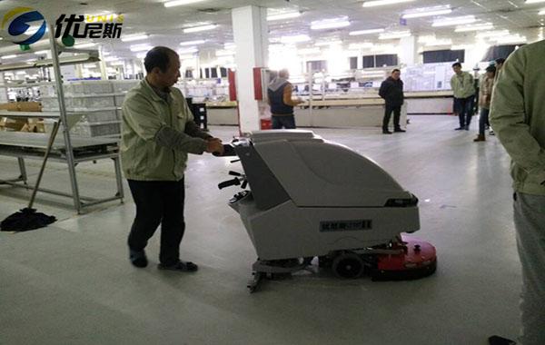优尼斯工业洗地机用品质守候无锡客户的再次采购