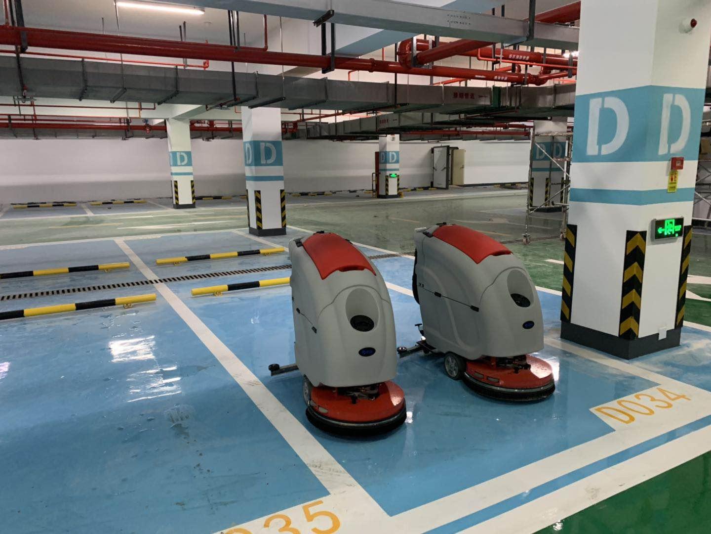 优尼斯洗地机越来越受保洁公司喜爱